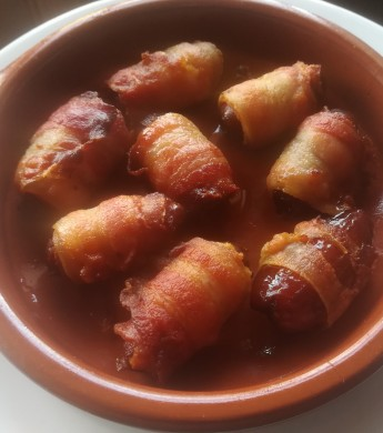 Dátiles con bacon